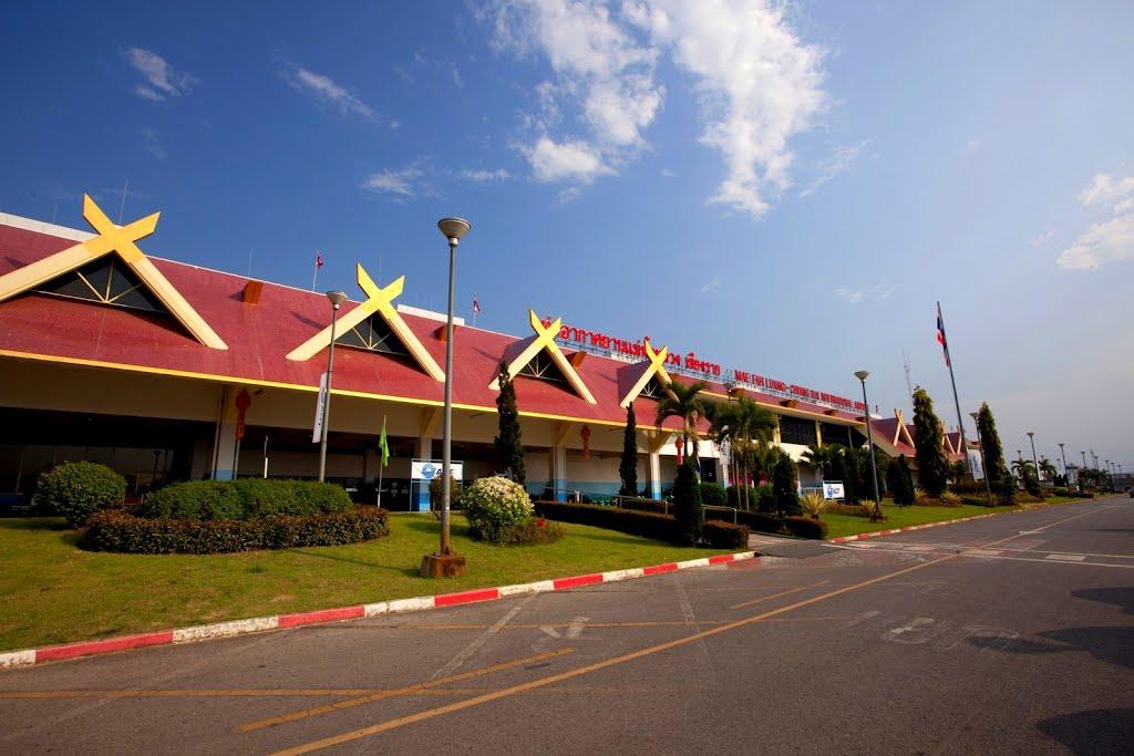 Mae Fah Luang Chiang Rai International Airport Bangkok Thailand Hub Terbang Penting Kedua